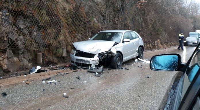 Sudar tri vozila, ima povrijeđenih lica