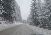 Na prevojima otežan saobraćaj zbog snijega