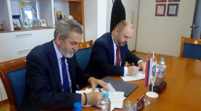 Potpisan ugovor o izgradnji obaloutvrdnog zida na rijeci Rzav