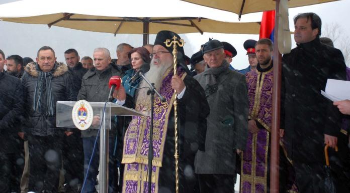 Mitropolit Hrizostom: Stari Brod je naše sveto mjesto