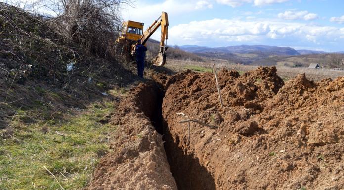 Počela izgradnja vodovoda za poslovnu zonu