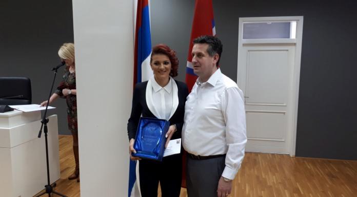Mladena Petrušić najbolji sportista grada za 2017. godinu