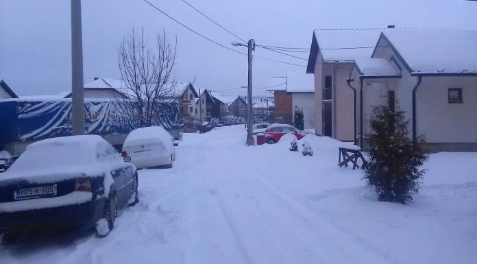Palo deset centimetara novog snijega