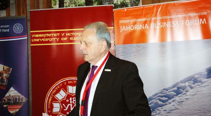Rektor Univerziteta IS Stevo Pašalić