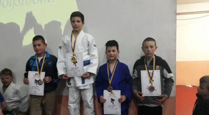 """Džudisti """"Romanije"""" uspješni na Prvenstvu BiH u Novoj Bili"""