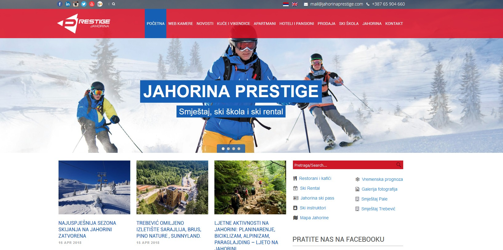 Jahorina prestige