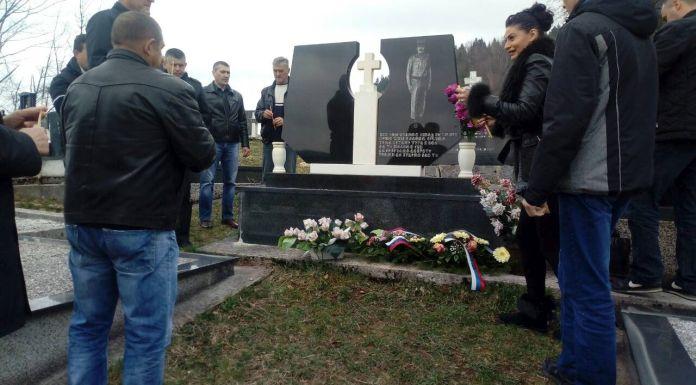Obilježene 24 godine od pogibije kapetana Lizdeka i vojnika Kneževića