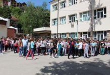 Vježba evakuacija djece u slučaju požara