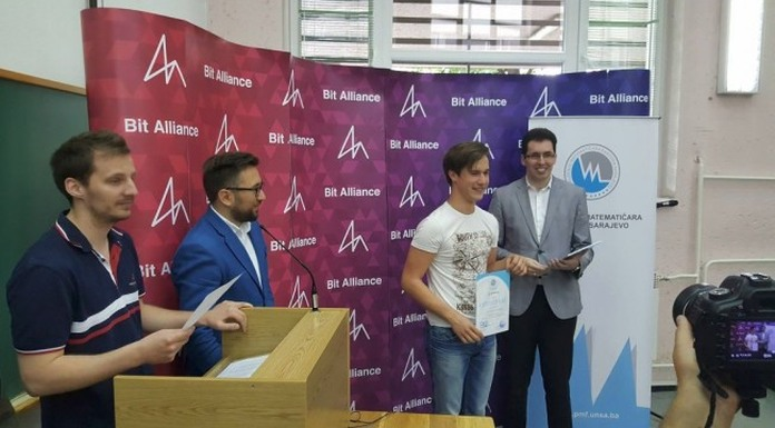 Bronza Damjanu Stankoviću na Balkanskoj matematičkoj olimpijadi
