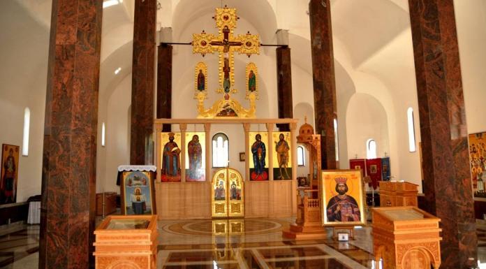 Ikonostas u Hramu svetog cara Lazara u Andrićgradu biće završen do Vidovdana