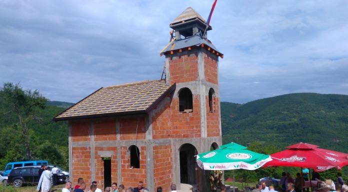 Na jošaničkom pepelu niče spomen-crkva