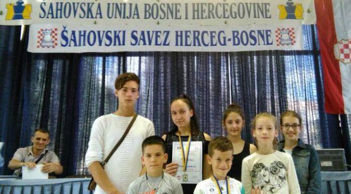 Mladi šahisti osvojili srebro i bronzu