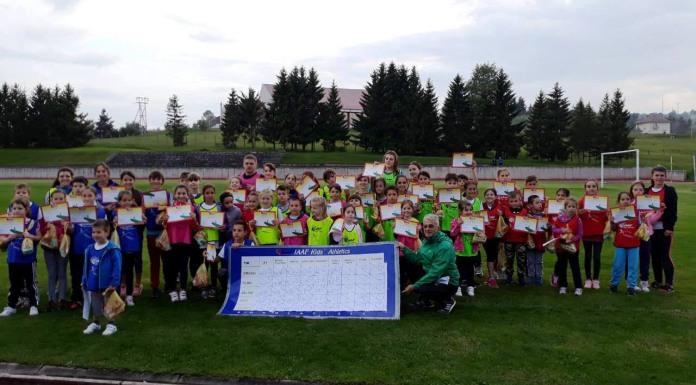 Održano takmičenje najmlađih atletičara