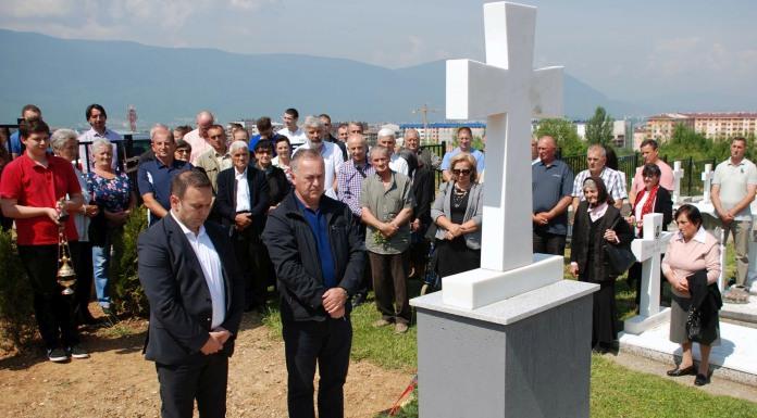 Osveštan centralni spomenik poginulim borcima