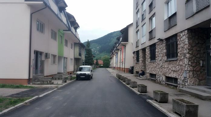 Postavljanjem novog asfalta završena modernizacija Nemanjine ulice