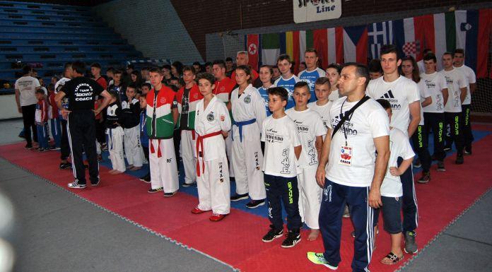 Otvoreno tekvondo takmičenje, učestvuju klubovi iz 13 zemalja