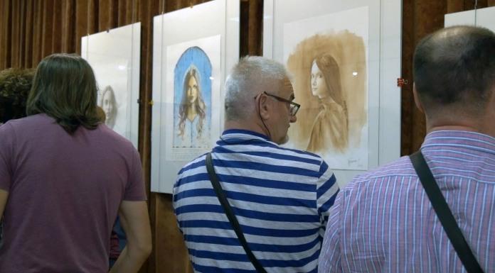 Otvorena izložba slika Angeline Janjušević i Slavka Tuševljaka