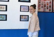 Otvorena izložba učenice Nevene Mirović