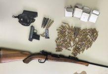 U Osmacima otkriveno oružje i municija