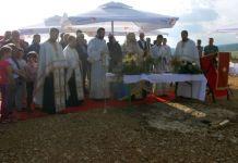 Osveštana zemlja za rusku crkvu na Vidrićima