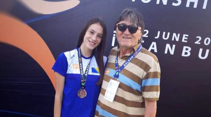 Sara Lučić bronzana na Balkanijadi
