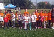Šest medalja za najmlađe atletičare