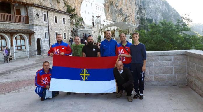 Amputirci posjetili Ostrog, slijedi put na Hilandar
