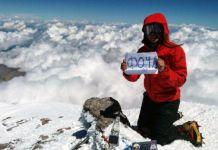 Fočanka na krovu Evrope - Jelena se popela na Elbrus