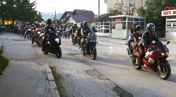 Na motorijadi oko 90 motociklista