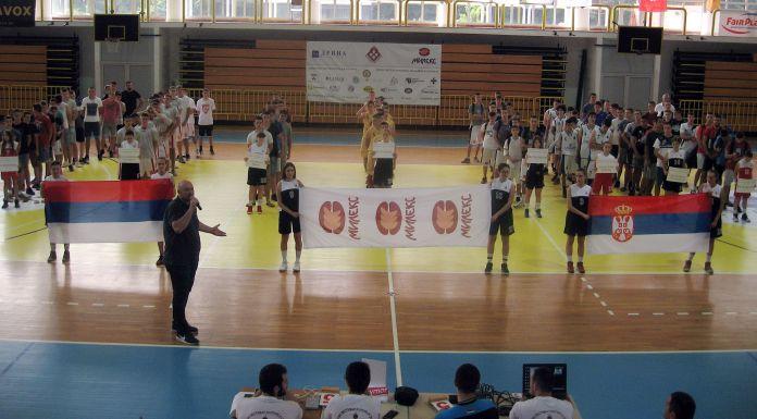 Počeo omladinski košarkaški turnir