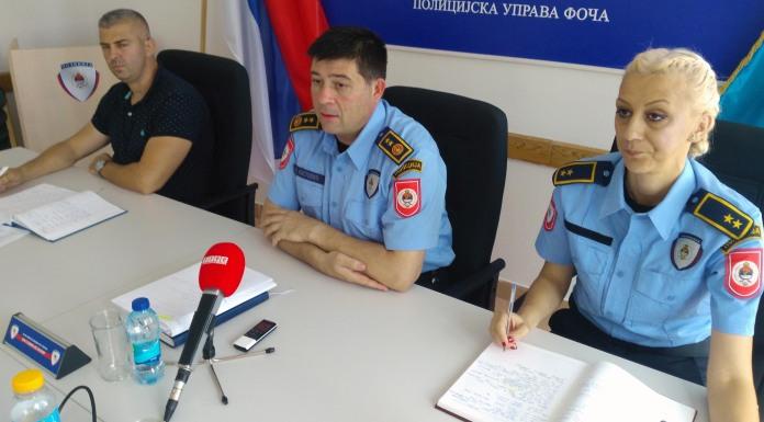 Izvještaj Policijske uprave Foča