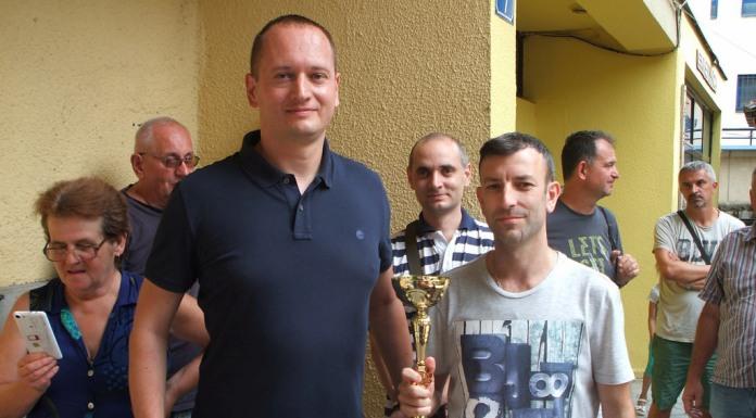 Miodrag Savić pobjednik Memorijalnog turnira
