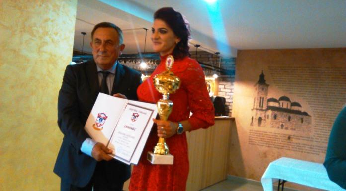 Mladena Petrušić najuspješniji sportista opštine
