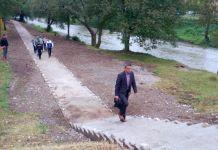 Kompletirano šetalište desnom obalom Ćehotine