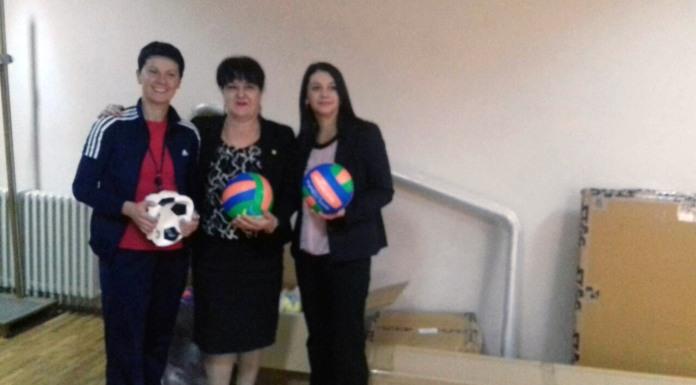 Davidovićeva uručila poklon Ministarstva sporta Srbije