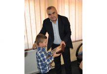 Dječak Viktor Kokotović simbolično preuzeo ključeve grada